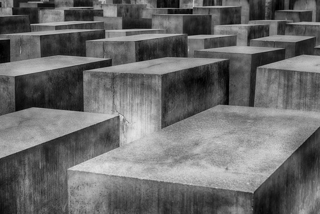 betonnen blokken